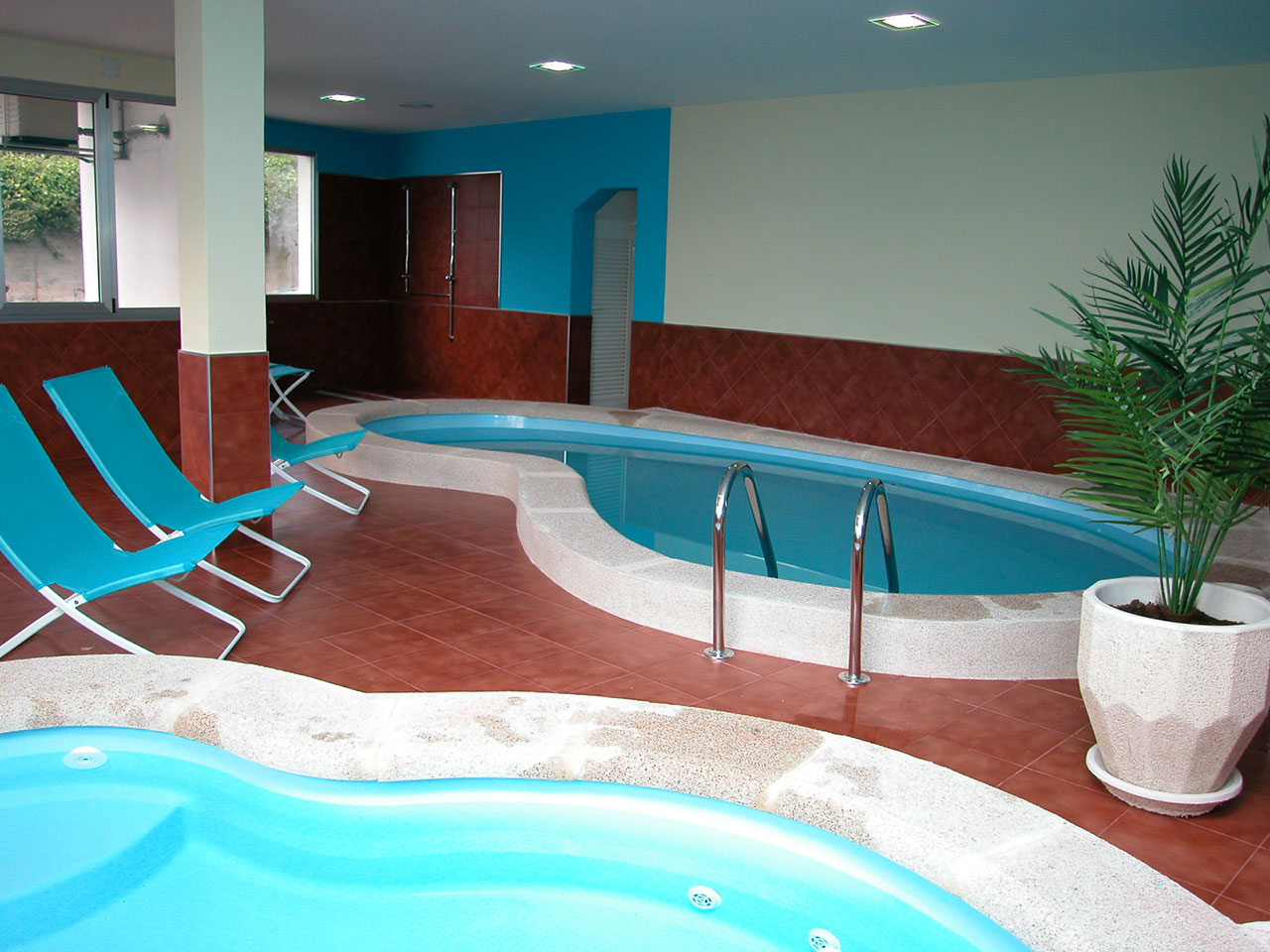 Piscinas interiores